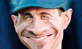 caricature- mick