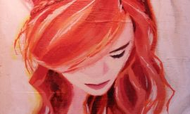 painting- red hair