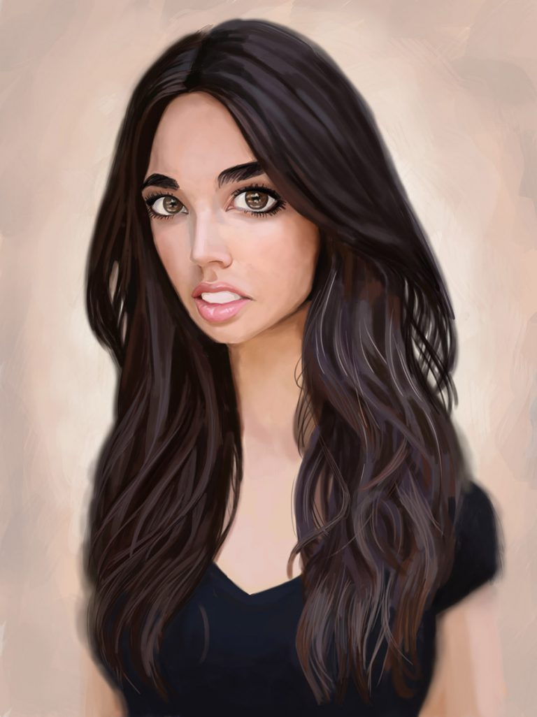 caricature- hailee